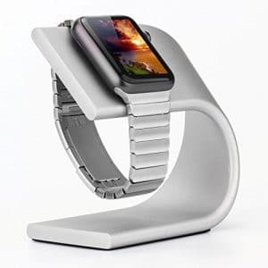 phonewatch Apple Watch Stand Silver