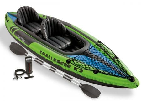 Intex Challenger K2 Kayak, 2-Person Inflatable Kayak