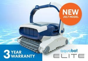 Aquabot Pool Vacuum Cleaners, Elite In-ground Robotic Pool Cleaner -Pool VacuumCleaners