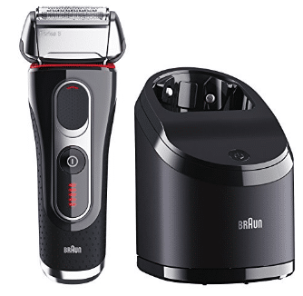 Braun Series 5 5090cc Electric Foil Shaver for Men with Clean & Charge Station