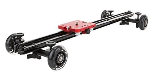 "KAMERAR SD-1 Mark II 23"" DSLR CAMERA SLIDER DOLLY - Tripod Dolly for Cameras"