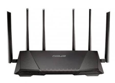 ASUS RT-AC3200 Wireless-AC3200 Tri-Band Wireless Gigabit Router