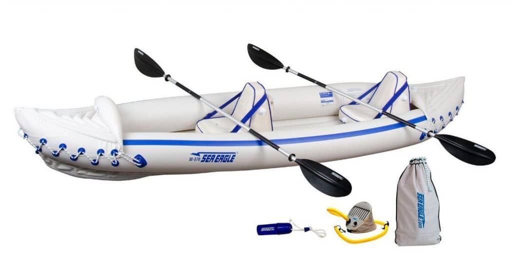 10 best inflatable kayaks of 2017 fishing kayak reviews for Best inflatable fishing kayak
