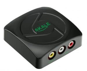 RCA AV Composite CVBS to HDMI Video Audio Converter