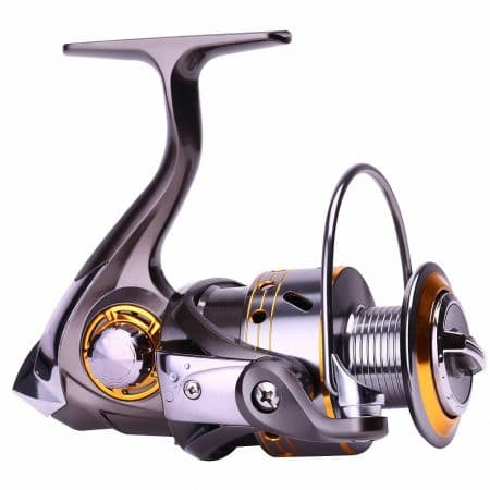 Sougayilang Left/right Interchangeable Collapsible Handle Spinning Fishing Reel
