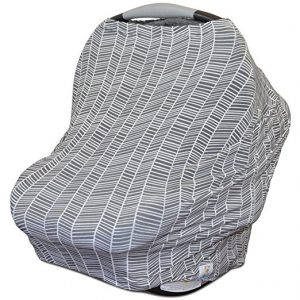 Stretchy Multi Use Carseat Canopy | Nursing Cover - Car Seat Canopy