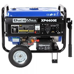 DuroMax XP4400E 4 Home Depot Generators, 400 Watt 7.0 HP OHV 4-Cycle Gas Powered Portable Generator