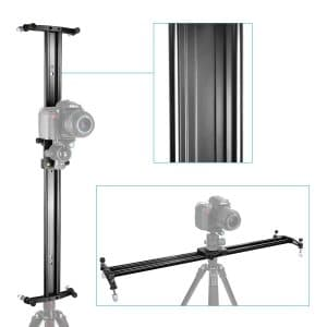 Neewer, 47-inch Track Dolly Slider -Tripod Dolly for Cameras