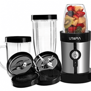 Mini Blender - 10-Piece High Speed 220W Power Blender, Mini Blenders