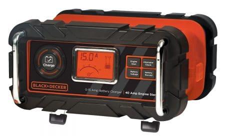 BLACK+DECKER BC15BD 15 Amp Bench Battery Charger