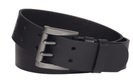 Levi's, Genuine Leather Two-Pronged Buckle Belt