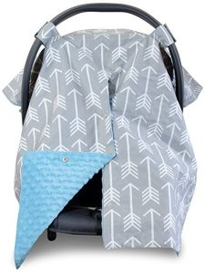 Premium Carseat Canopy Cover and Nursing Cover - Car Seat Canopy