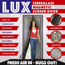 Magnetic Screen Door New 2020 Design Full Frame