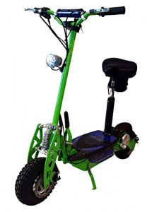 "Super Turbo 1000watt Elite 36v Electric Scooter ""Neon Green"" Electric Scooter for adults"