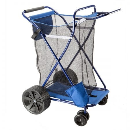 Copa, Beach Cart Ultra-Wheels and Mesh Storage