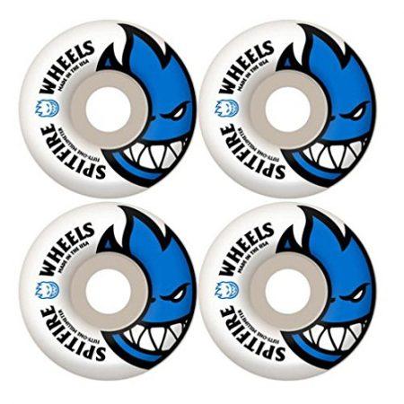 Spitfire Bighead 51mm White W Blue Skate Wheels