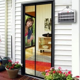 "Magnetic Screen Door 36""W By 83""H Fits Doors Size Up to 34""W x 82""H"