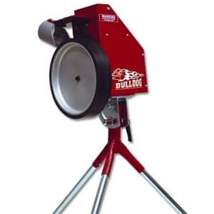 BSN Bulldog Baseball/Softball Pitching Machine - Pitching Machines