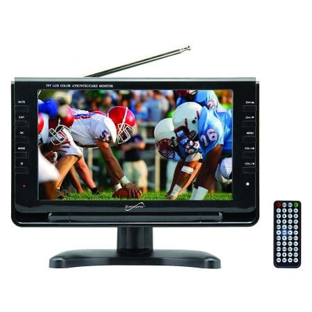 SuperSonic Portable Widescreen LCD Display with Digital TV Tuner,