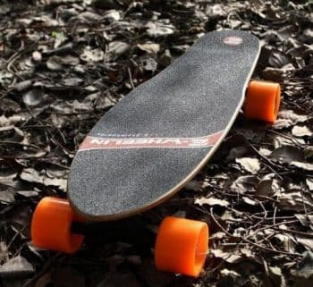 CB H4 electric skateboard with super quiet hub-motor & ergonomic remote control-Free Ship