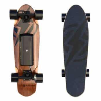 Atom Longboards Atom Electric H.4 Skateboard - 400W Hub Motor - 55Wh Li-Ion Battery