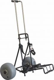 Wheeleez Mini Folding Beach Cart