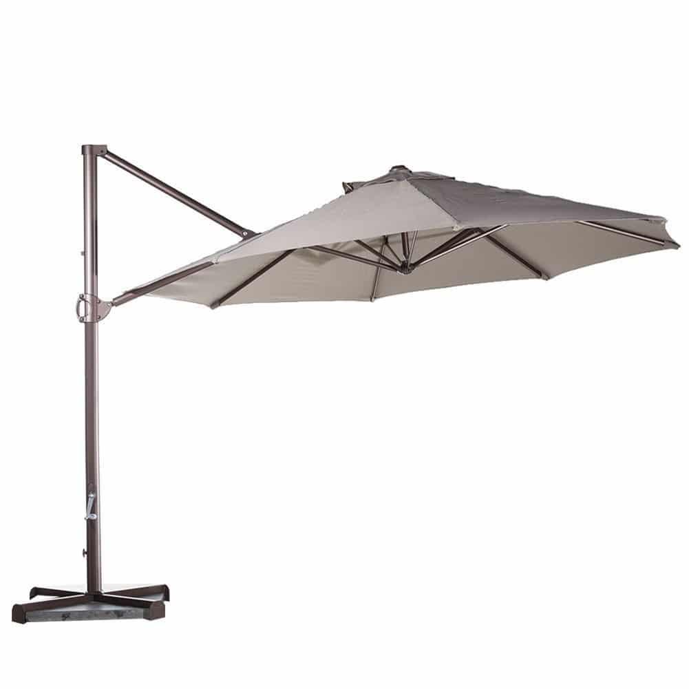 Top 10 Best Offset Patio Umbrellas 2018 Buyer S Guide