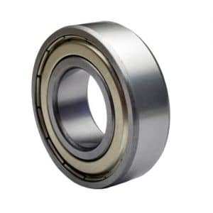 608 ZZ Skateboard Bearings, Double Shielded, Silver (Pack of 8)