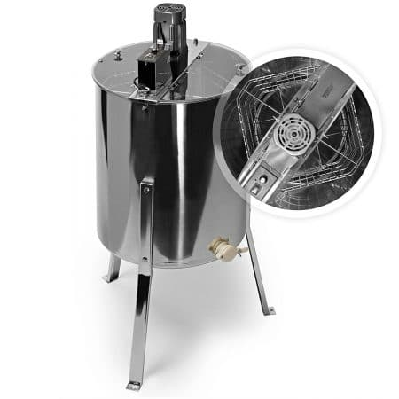 Honey Keeper Pro Electric 4 Four Frame Stainless Steel Honey Extractor