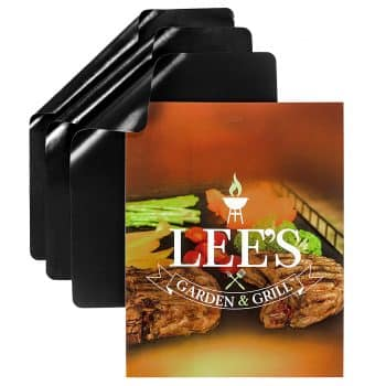 Lee's Garden & Grill, BBQ Grill Mat Set of 3 Mats