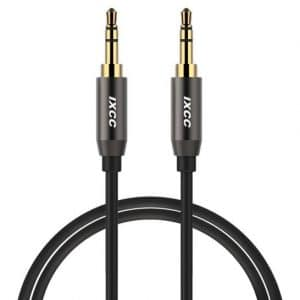 iXCC 3Ft Male to Male 3.5mm Universal Auxiliary Audio Stereo Cable Cord
