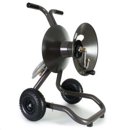 Rapid Reel, Eley / Rapid Reel Two Wheel Garden Hose Reel Cart