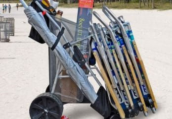 10 Best Beach Carts in 2017 – Buyer's Guide