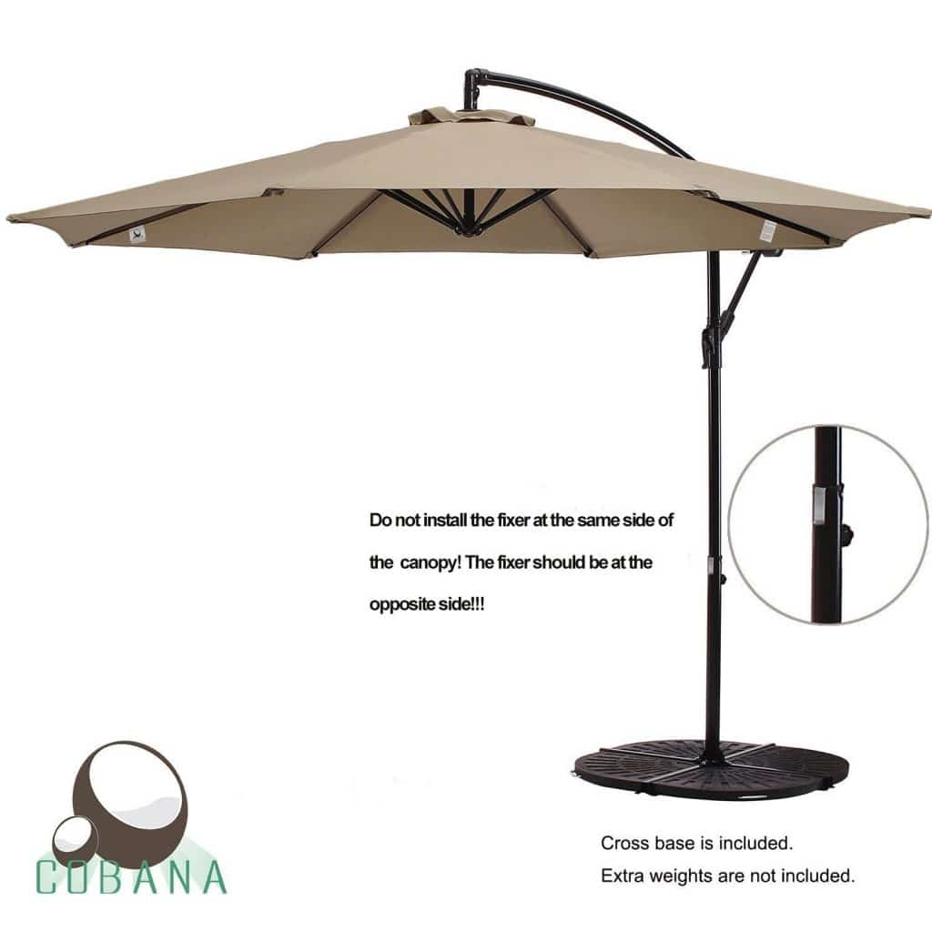 cantilever cafe wind in bay umbrellas p hampton ft patio resistant solar umbrella offset