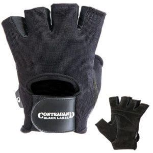 Contraband Black Label 5050 Basic Weight Lifting Gloves (PAIR)