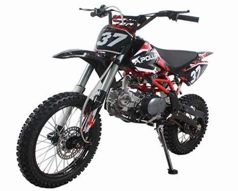 Apollo Precision Tools AGB 37 125cc Big Size Dirt Bike