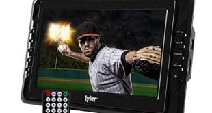"Tyler TTV703 10"" Portable Widescreen LCD TV with Detachable Antennas, USB/SD Card Slot"