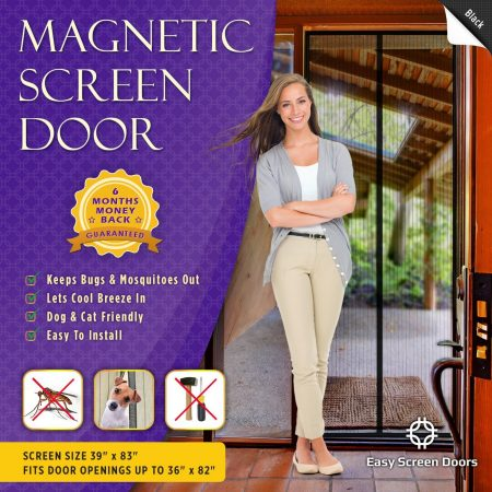 Easy Magnetic Screen Door, Magnetic Screen Door, Mesh Curtain