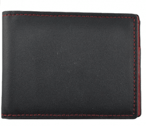 Royce Leather 100 Step Wallet, Men's Bifold Wallet Handmade in American Genuine Leather