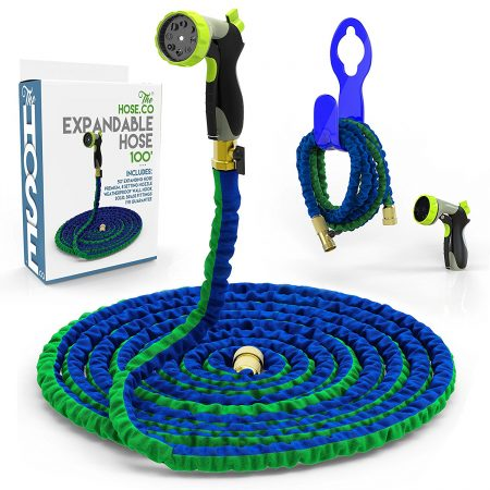 Expanding Garden Hose Kit: Green