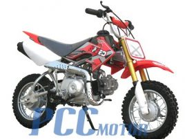 DB70 Dirt bike 70cc Semi Automatic, RED