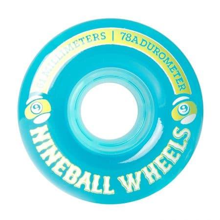 Sector 9 Nine Balls Skateboard Wheel, Blue, 61mm 78A
