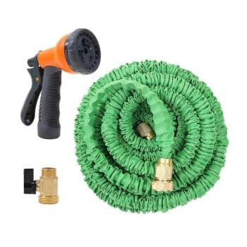 Ohuhu Super Strong Garden Hose/Expandable Hose with All Brass Connector
