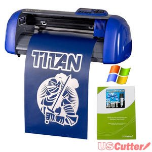 USCutter 15-inch Table Titan Vinyl Cutter with VinylMaster Cut Software