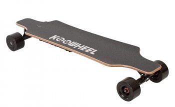 KooWheel D3M Electric Skateboard Updated Version – Dual 250W Hub Motors – Wireless Remote and 25 MPH Max Speed