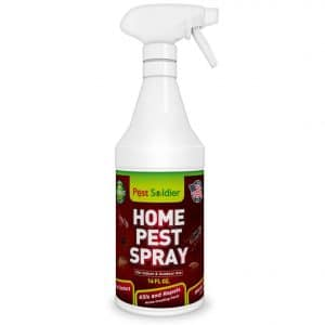 Pest Soldier Organic Home Pest Control Spray - Kills & Repels, Ants