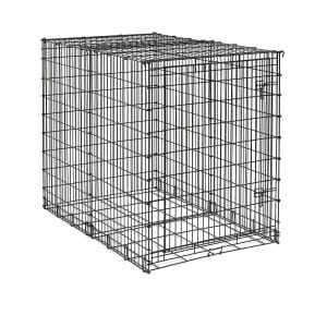 MidWest Starter Series Single-Door Drop-Pin Metal Dog Crate