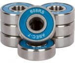 Radeckal Blue Skateboard Bearing
