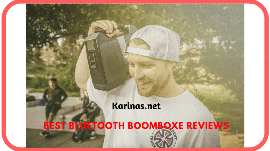 Bluetooth Boomboxe
