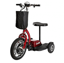 Drive Medical Zoome Three Wheel Recreational Power Scooter, 3-Wheel Electric Scooter